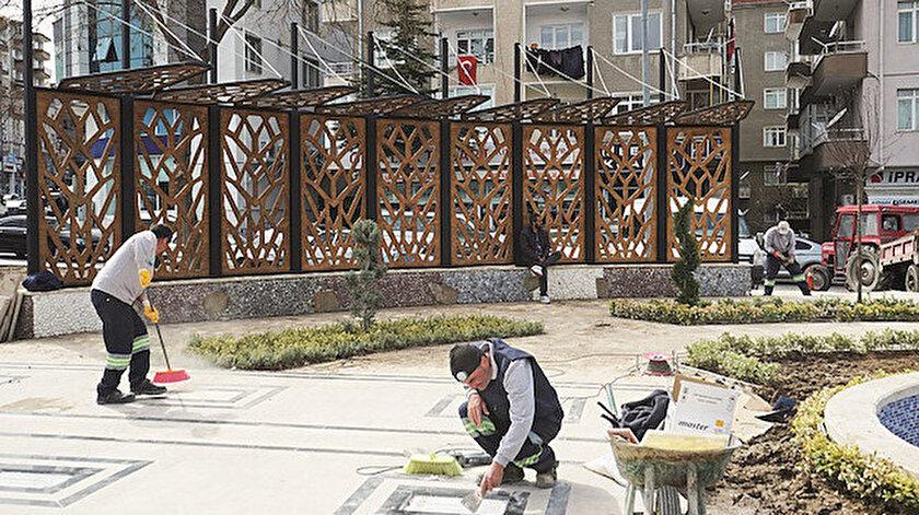 Nevşehir sokakları