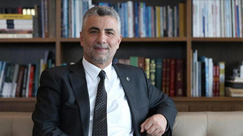 Albayrak Holding Ceo'su Prof. Dr.  Ömer Bolat.