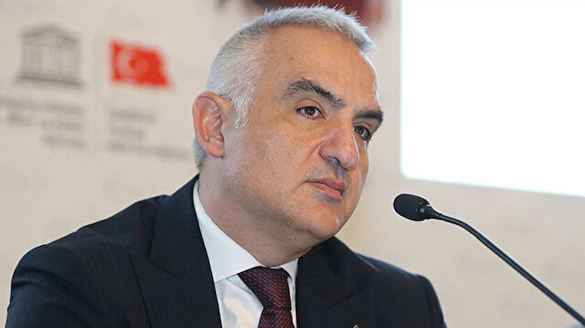 Kültür ve Turizm Bakanı Mehmet Nuri Ersoy.