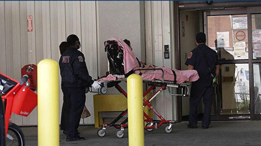 ABD'de vaka ve ölü sayısı her geçen gün hızla artıyor.