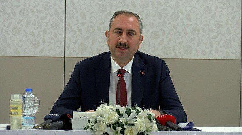 Adalet Bakanı Abdulhamit Gül.