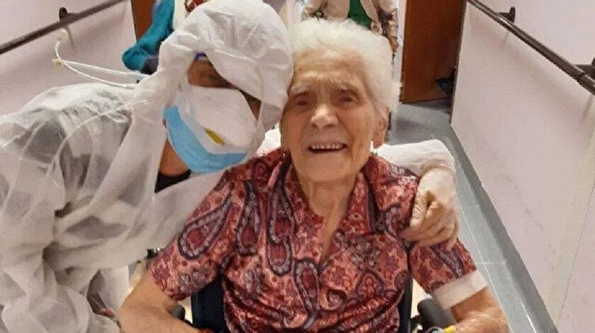 104 yaşındaki Ada Zanusso.