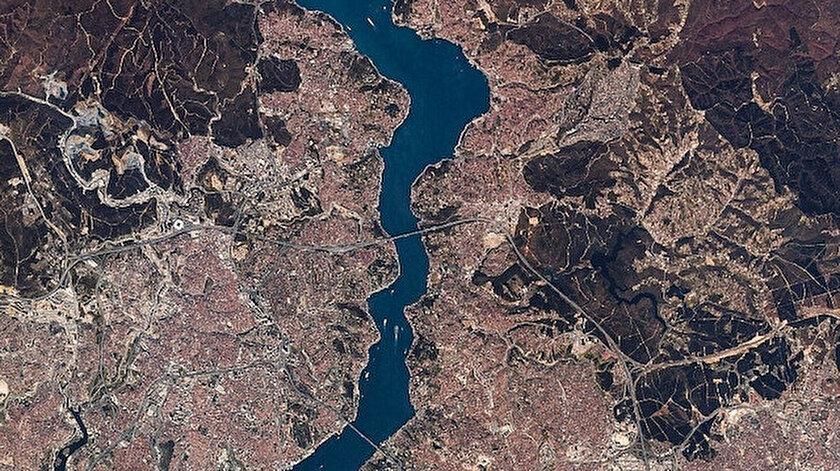 Rasat, İstanbul boğazını böyle görüntülemişti.