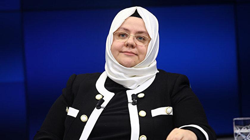 Aile, Çalışma ve Sosyal Hizmetler Bakanı Zehra Zümrüt Selçuk açıklama yaptı.