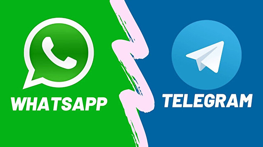 Telegram, Whatsapp'a alternatif olarak çıktı.