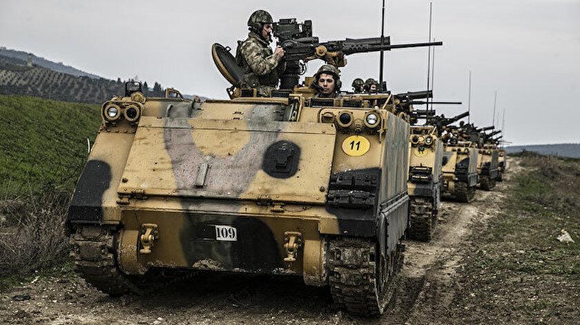 Fırat Kalkanı, Zeytin Dalı, İdlib ve Barış Pınarı bölgesindeki güvenlik önlemleri devam ediyor.