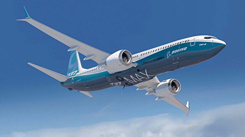 Boeing'in '737 MAX' tipi uçağı