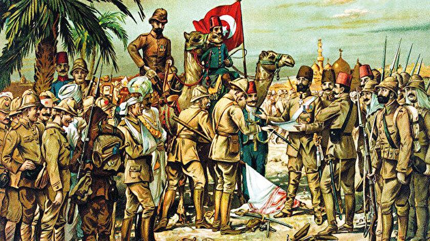 """Milli Savunma Bakanlığı, Kut'ül Amare Zaferi'nin 104'üncü yıl dönümünü nedeniyle sosyal medya üzerinden kutlama mesajı yayımladı. Paylaşımda, """"Kahraman ecdadımızın destansı mücadelesiyle 104 yıl önce şanlı tarihimize eşsiz zaferlerden biri olarak yazılan Kut'ül Amare Zaferi'nin yıldönümünde aziz şehitlerimizi ve kahraman gazilerimizi rahmet ve minnetle yad ediyoruz"""" ifadelerine yer verildi."""