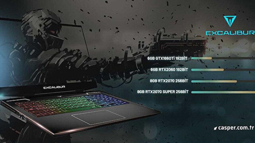Casper yeni oyun bilgisayarı Excalibur G900'ü ön satışa sundu.
