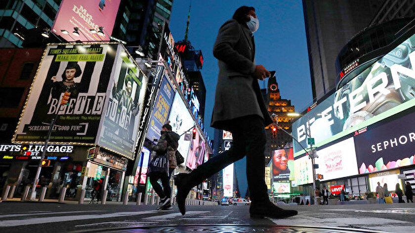 New York, dünyada en fazla vakanın olduğu şehit oldu.