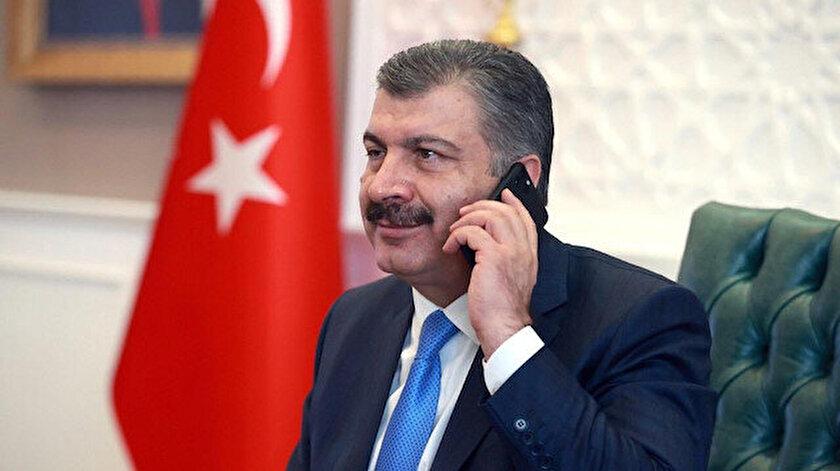Bakan Koca, Mazhar Alanson yerine yanlışlıkla mahalle muhtarını aradı.