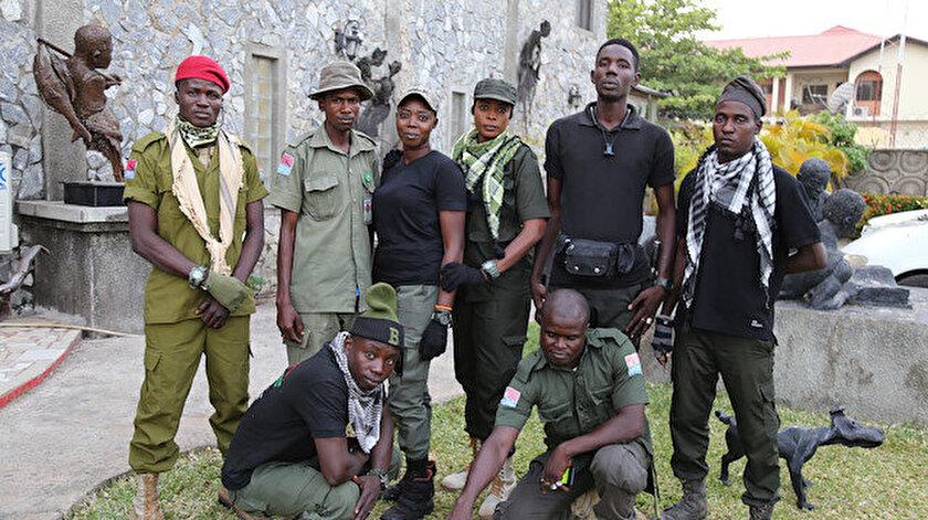 """Boko Haram örgütüne karşı """"avcılar"""" görevde"""