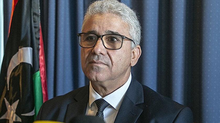 Libya İçişleri Bakanı Fethi Başağa.