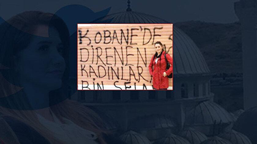 CHP'li Banu Özdemir'in PKK'ya destek verdiği ortaya çıktı.