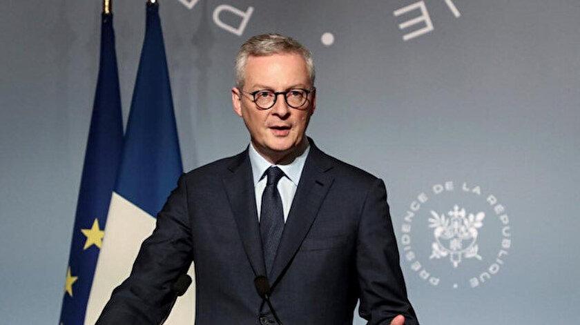 Fransa Ekonomi Bakanı Bruno Le Maire.