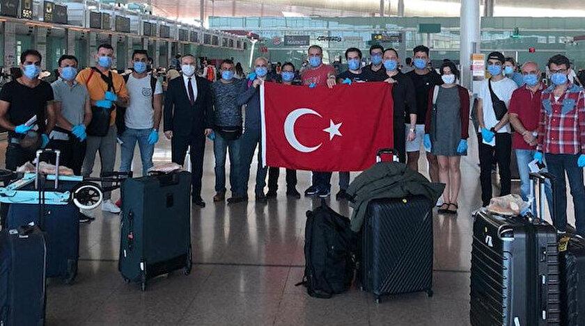 15 Türk denizci 65 günlük karantinanın ardından yurda dönüyor.