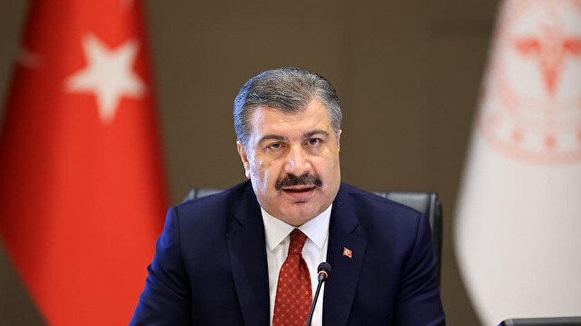 Sağlık Bakanı Fahrettin Koca, taziyelerini bildirdi.