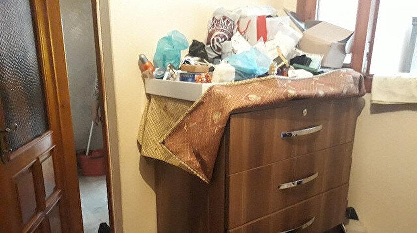 Arzu Doğan, hastanede olduğu sırada evine giren iki kadın tarafından soyuldu.