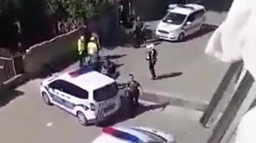 Çorlu'da aşırı güç kullanan polislere görevden el çektirildi.