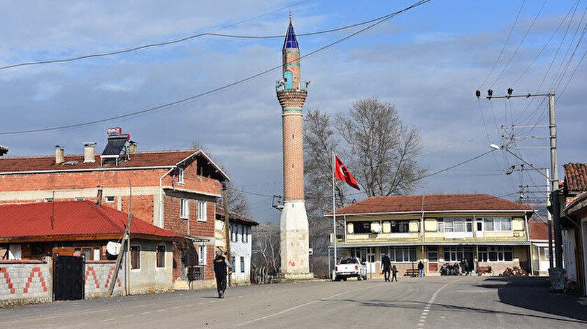 1868'de yapılan Hasanpaşa Cami'sinden geriye bu minare kaldı.