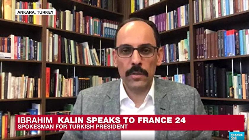 Cumhurbaşkanlığı Sözcüsü İbrahim Kalın Fransız televizyonuna konuştu.