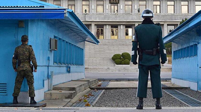 Kuzey Kore Güney Kore Sınırı.