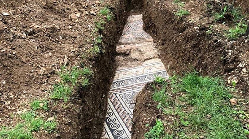 Mozaiklerin Milattan sonra 3'üncü yüzyıla ait olduğu belirtiliyor.