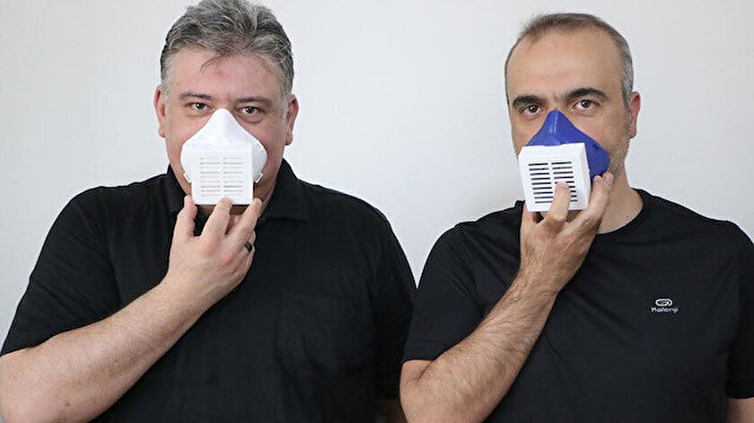 Virüsleri yok eden elektronik maske üretildi - Aksaray haberleri