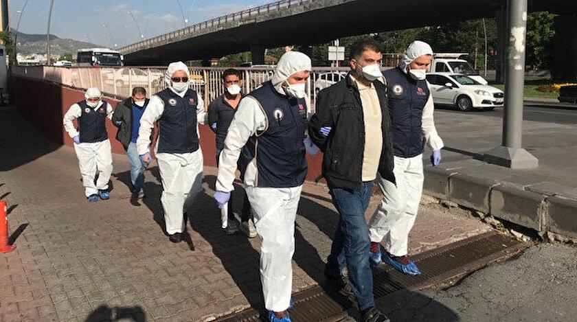 Kayseri'de DEAŞ operasyonunda gözaltına alınanlar...