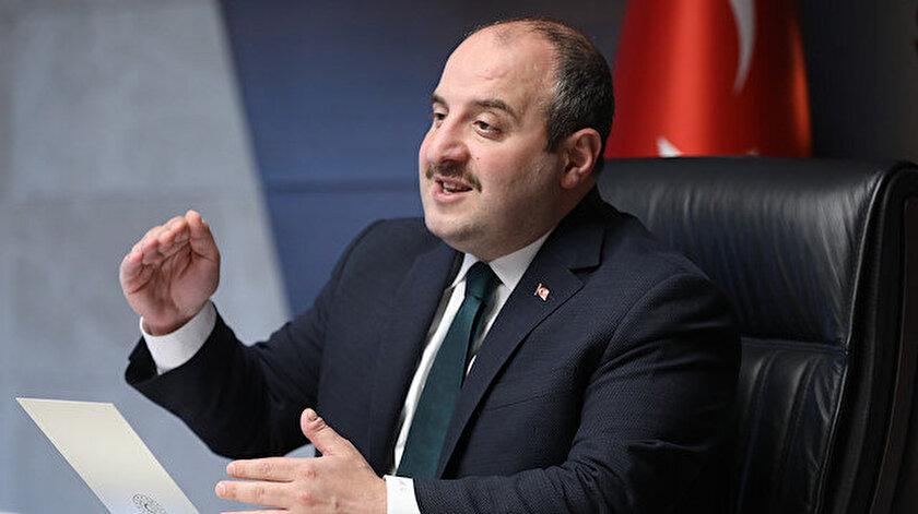 Sanayi ve Teknoloji Bakanı Mustafa Varank açıklama yaptı.