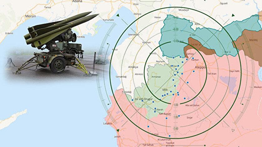TSK, rejimin yeni saldırılarını engellemek için tüm hazırlıklarını yaptı. Harita: TSKMAP