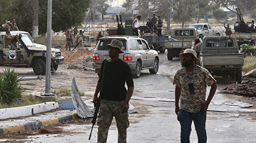 Libya ordusu, Hafter milislerinin işgalindeki Trablus Uluslararası Havaalanı'nda kontrolü sağlamıştı.