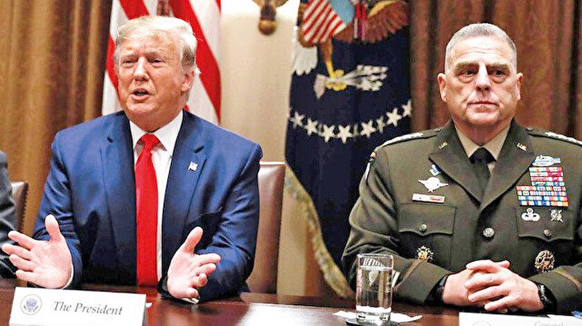 Mark Milley ve Donald Trump