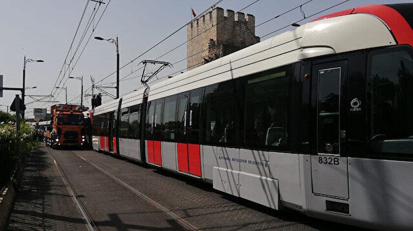 Tramvay seferlerinde teknik arıza yaşandı.