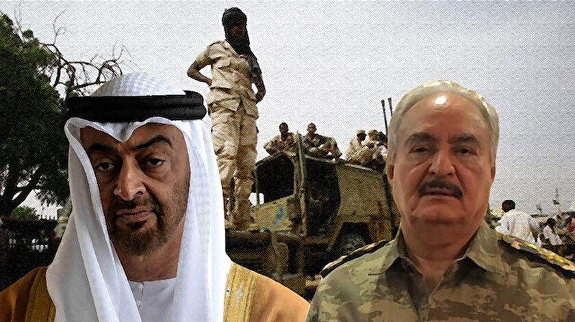 Muhammed bin Zayed ve Halife Hafter.