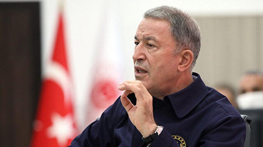 Milli Savunma Bakanı Akar: Hafterin Libya dışında olduğu yönünde bilgi aldık