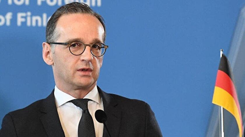 Almanya Dışişleri Bakanı Heiko Maas.