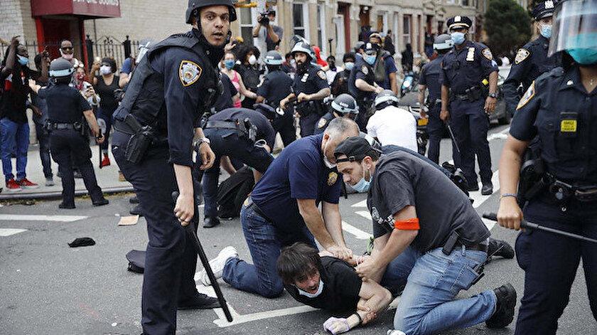 ABD polisi basına tepkili.