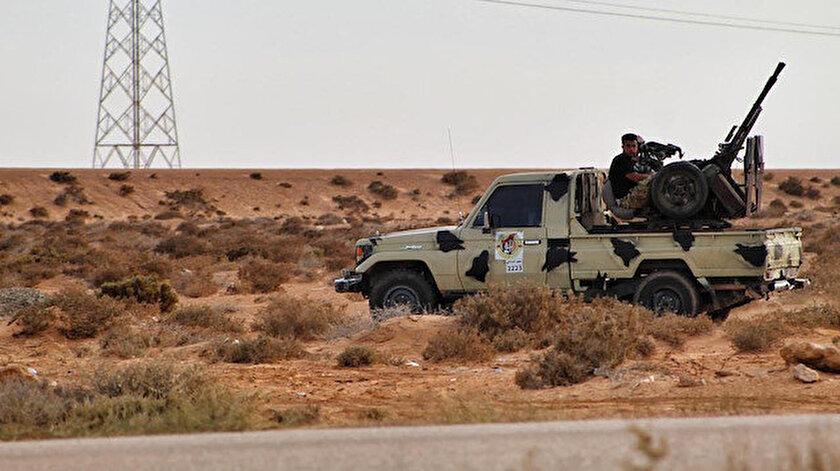 Libya ordusu, Sirte'nin çevresini kontrol altına almıştı.
