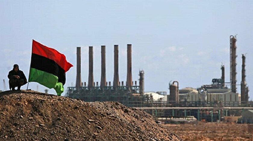 Libya'da üretilen petrolün yüzde 80'inin Avrupa'ya ihraç edildi.