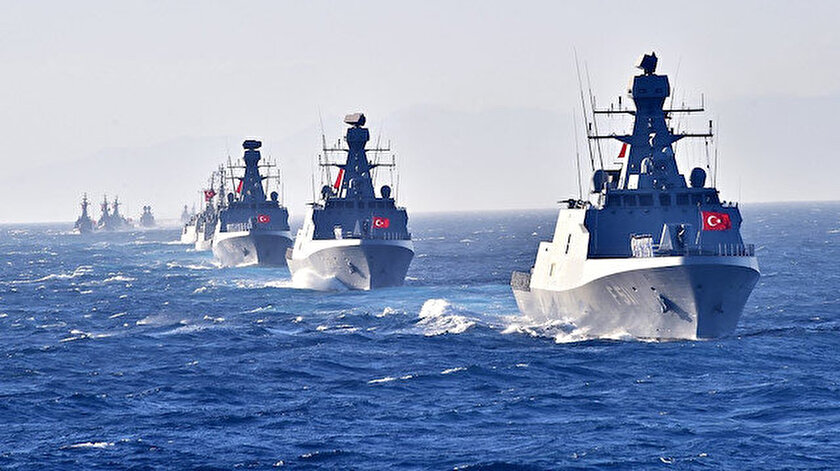 Türkiye gerektiğinde tüm Doğu ve Orta Akdeniz kıyılarına müdahale ederim mesajı verdi