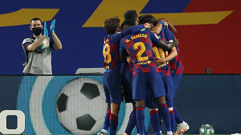 Barcelona maç fazlasıyla yeniden lider