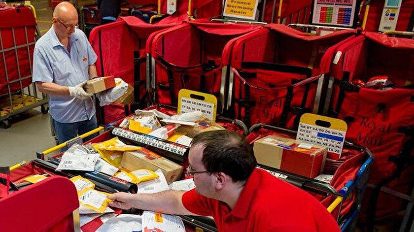 İngiliz Kraliyet Posta servisi 2 bin kişiyi işten çıkaracak