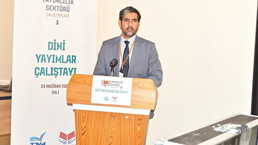 Türkiye Basım Yayın Meslek Birliği Başkanı Mustafa Doğru