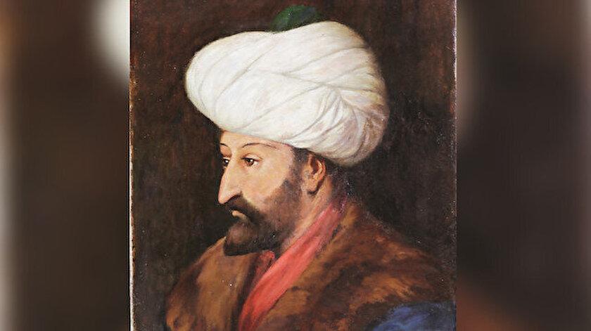 Halil Paşa'nın Fatih Sultan Mehmed portresi