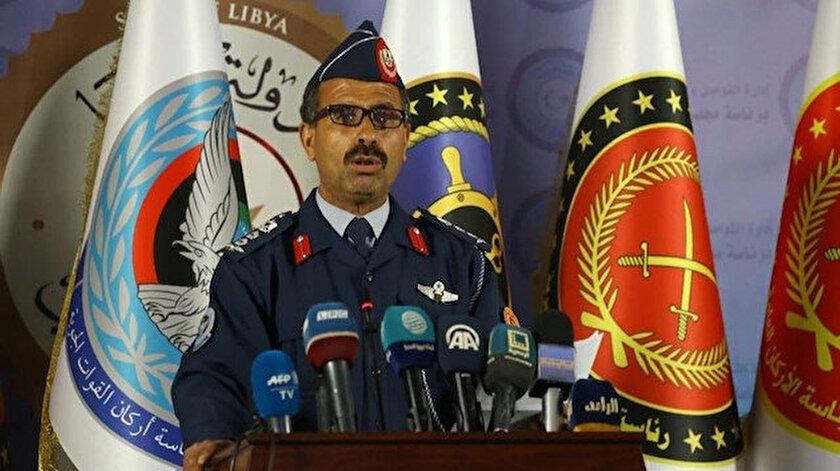 UMH ordusu sözcüzü Albay Muhammed Kanunu.