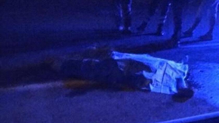 Yolun karşısına geçmek isteyen talihsiz adam hayatını kaybetti.