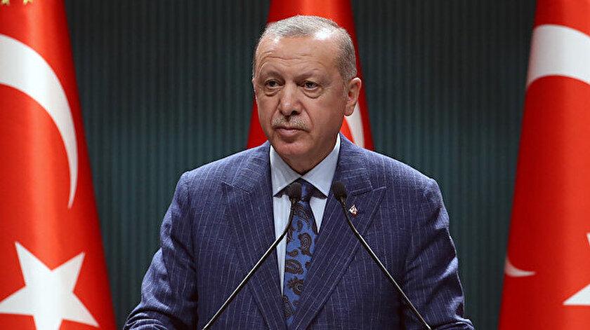 Cumhurbaşkanı Erdoğan açıklama yaptı.
