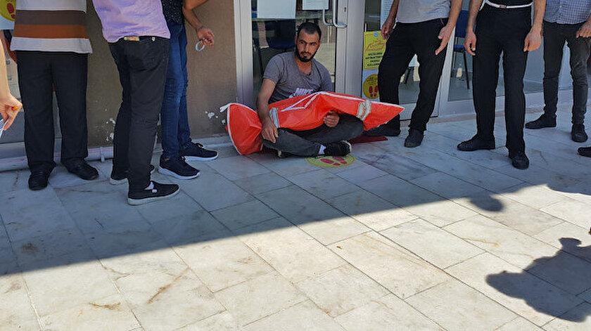 Muhammet Salih (29), oğlunun vücudundaki otopsi izlerini görünce organlarının çalındığını zannetti.