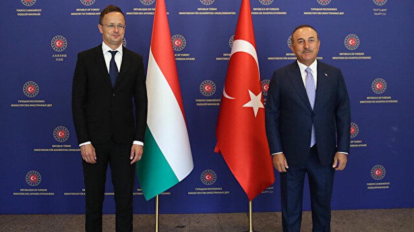 Dışişleri Bakanı Mevlüt Çavuşoğlu, Macar Mevkidaşı Peter Szijjarto ile ortak açıklama yaptı.